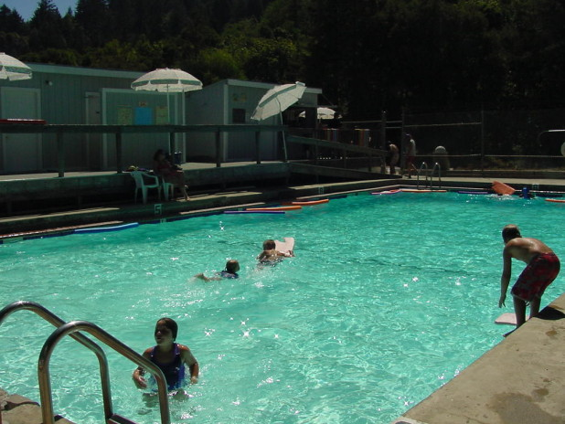 Redwood Estates pool